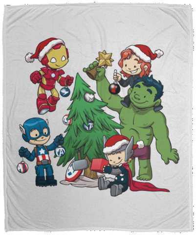 Blankets White / One Size Avenger Tree 50x60 MicroFleece Blanket