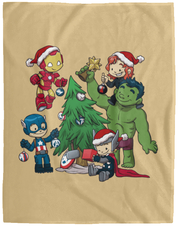 Blankets Tan / One Size Avenger Tree 60x80 MicroFleece Blanket