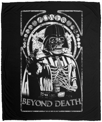 Beyond death 50x60 MicroFleece Blanket