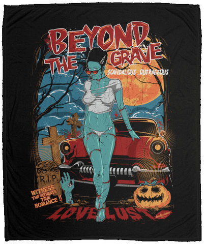 Beyond The Grave 50x60 MicroFleece Blanket