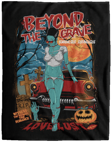 Beyond The Grave 60x80 MicroFleece Blanket