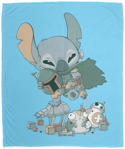 Boba Stitch 50x60 MicroFleece Blanket