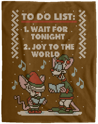 Christmas List 60x80 MicroFleece Blanket