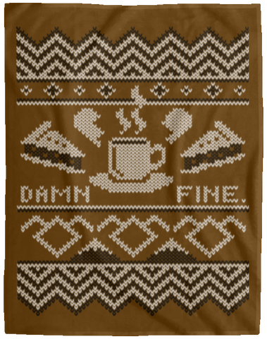Damn Fine Sweater_mephias 60x80 MicroFleece Blanket