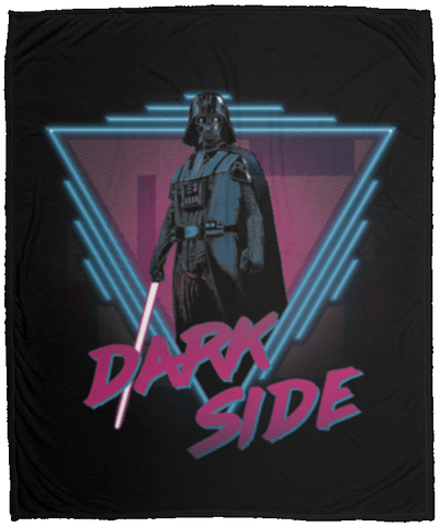 Dark Side 50x60 MicroFleece Blanket