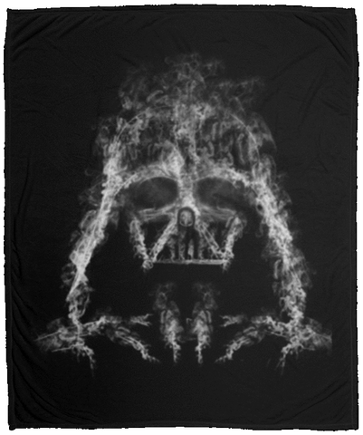 Darth Smoke 50x60 MicroFleece Blanket
