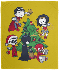 Justice Tree 50x60 MicroFleece Blanket
