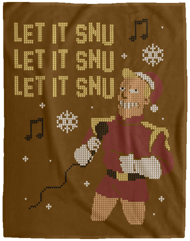 Let It Snu 60x80 MicroFleece Blanket