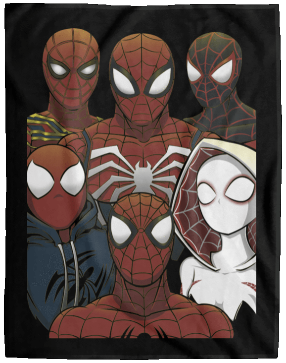 Blankets Black / One Size SPIDER LEAGUE 60x80 MicroFleece Blanket