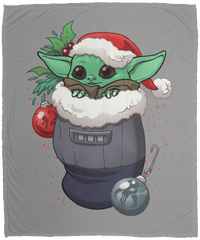 Blankets Gray / One Size Stocking Stuffer Yoda 50x60 MicroFleece Blanket