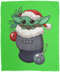 Blankets Kelly / One Size Stocking Stuffer Yoda 50x60 MicroFleece Blanket