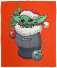 Blankets Orange / One Size Stocking Stuffer Yoda 50x60 MicroFleece Blanket