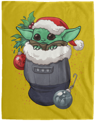 Blankets Old Gold / One Size Stocking Stuffer Yoda 60x80 MicroFleece Blanket