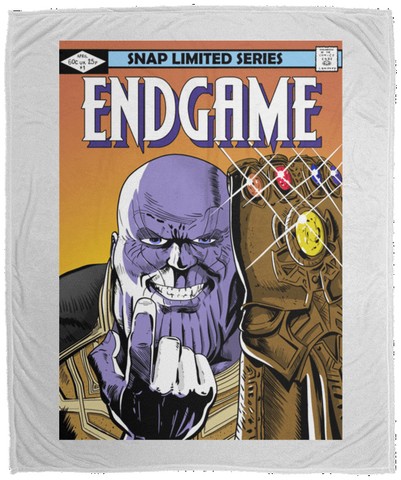 Blankets White / One Size Thanos Endgame 50x60 MicroFleece Blanket