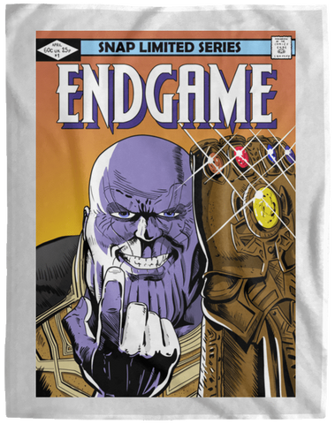 Blankets White / One Size Thanos Endgame 60x80 MicroFleece Blanket