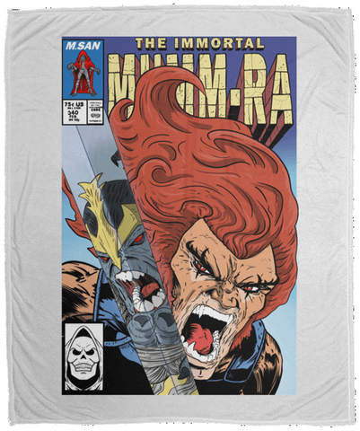 Blankets White / One Size The Immortal Mumm-ra 50x60 MicroFleece Blanket