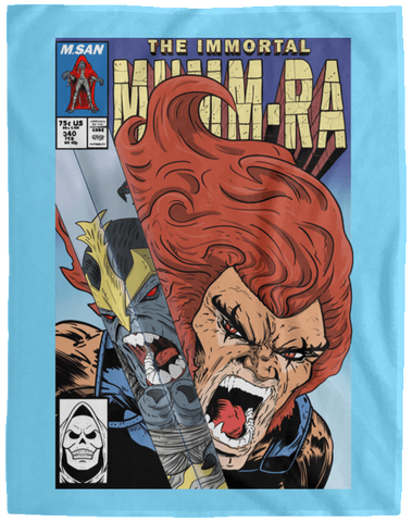 Blankets Columbia Blue / One Size The Immortal Mumm-ra 60x80 MicroFleece Blanket