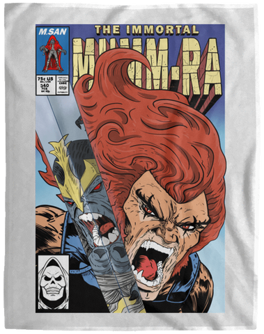 Blankets White / One Size The Immortal Mumm-ra 60x80 MicroFleece Blanket