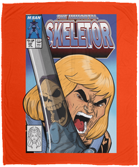 The Incredible Skeletor 50x60 MicroFleece Blanket