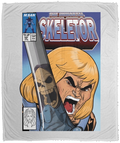 Blankets White / One Size The Incredible Skeletor 50x60 MicroFleece Blanket