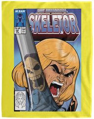 The Incredible Skeletor 60x80 MicroFleece Blanket
