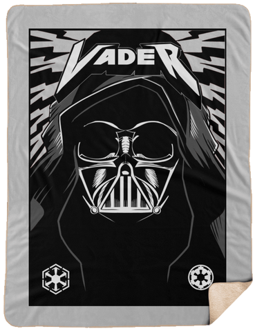 Blankets White / One Size Vader Rock 60x80 Sherpa Blanket