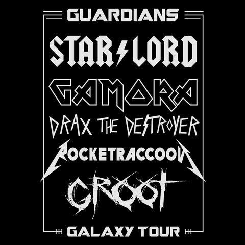 Guardians Galaxy Tour