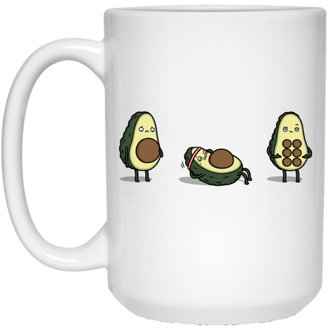 Drinkware White / One Size Absvocado 15oz Mug