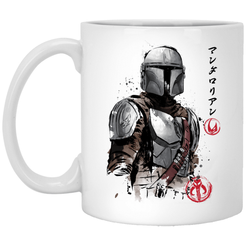 Drinkware White / One Size Clan of Two The Mandalorian 11oz Mug