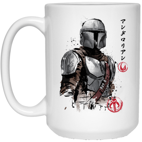Drinkware White / One Size Clan of Two The Mandalorian 15oz Mug