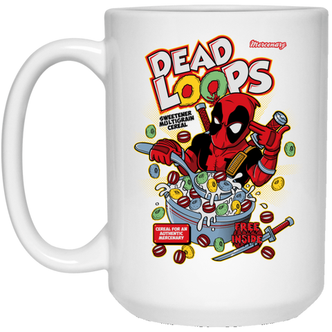 Drinkware White / One Size Dead Loops 15oz Mug