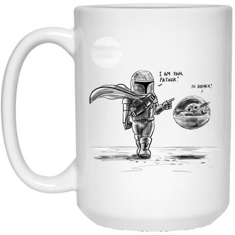 Drinkware White / One Size I Am Your Father 15oz Mug