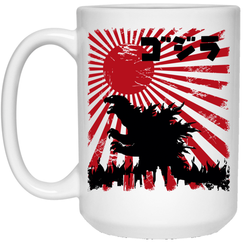 Drinkware White / One Size King Kaiju 15oz Mug