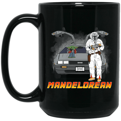 MandElorean 15 oz. Black Mug