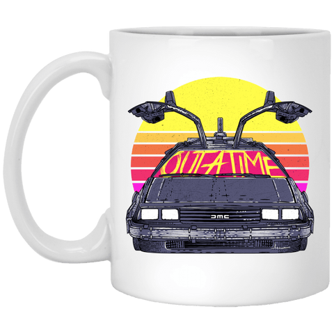 Outatime In The 80s 11oz Mug
