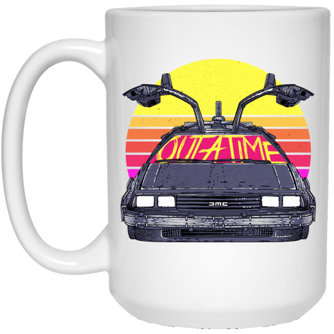 Outatime In The 80s 15oz Mug