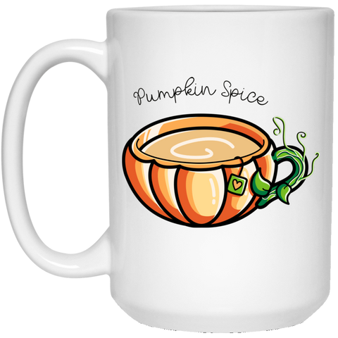 Drinkware White / One Size Pumpkin Spice Chai Tea 15oz Mug