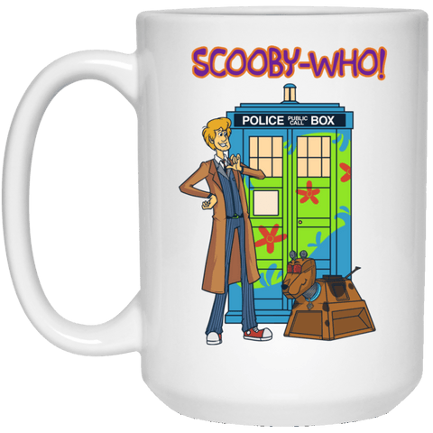 Drinkware White / One Size Scooby-Who! 15oz Mug