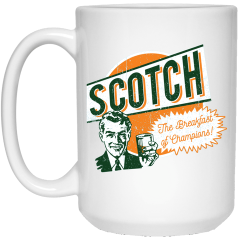 Drinkware White / One Size Scotch Retro Worn 15oz Mug