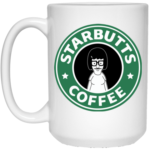 Drinkware White / One Size Starbutts 15oz Mug