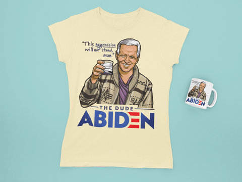 Drinkware White / One Size The Dude Abiden 15oz mug