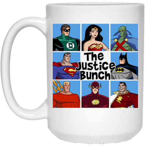 The Justice Bunch 15oz Mug