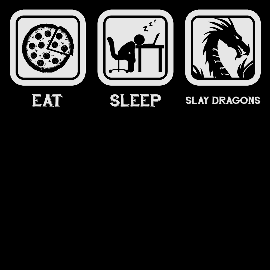 Eat Sleep Slay Dragons