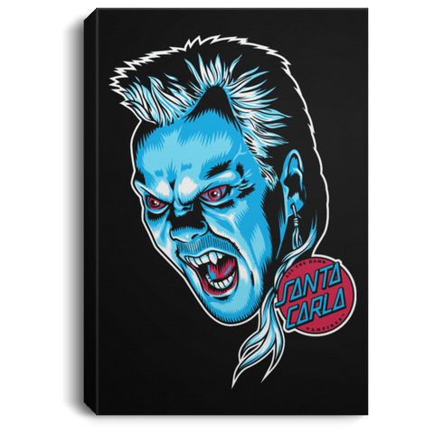 All The Damn Vampires Premium Portrait Canvas