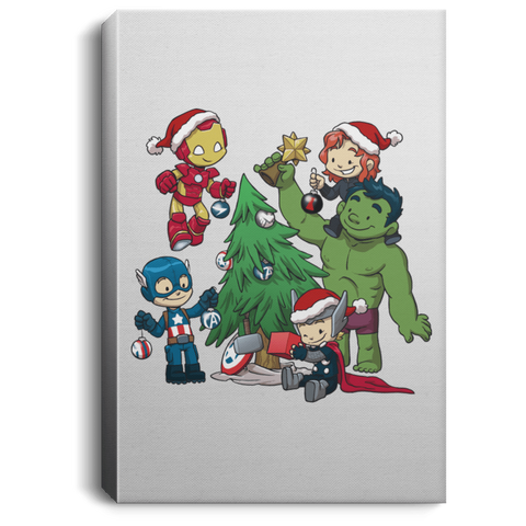 Avenger Tree Premium Portrait Canvas