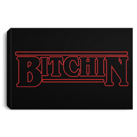 Bitchin Premium Landscape Canvas