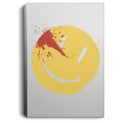 Bloody Smile Premium Portrait Canvas