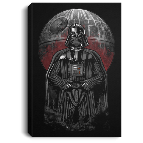 "Housewares Black / 8"" x 12"" Dark Force Premium Portrait Canvas"