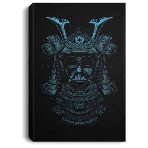 "Housewares Black / 8"" x 12"" Samurai Darth Premium Portrait Canvas"