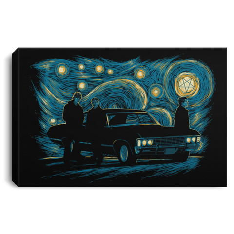 Supernatural Night Premium Landscape Canvas